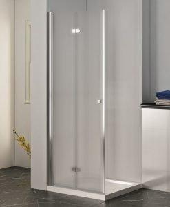 Преградна система за баня ХЕЛЕН матирано стъкло 100*200 114FS/100