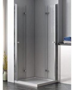 Преградна система за баня ХЕЛЕН матирано стъкло 90*200 114FS/90