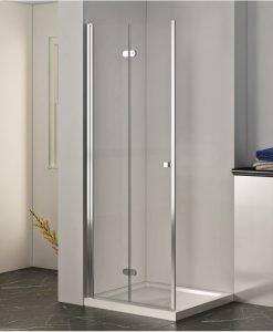 Преградна система за баня ХЕЛЕН прозрачно стъкло 80*200 114TR/80