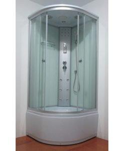 Хидромасажна душ кабина РАЙЛИ 878Т прозрачно стъкло