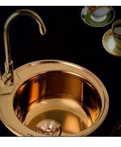 Кухненска мивка 4949U BRONZE