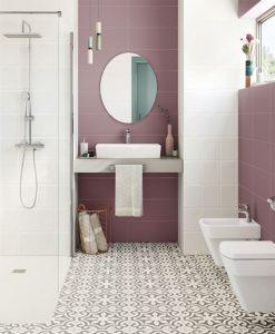 Плочки за баня Roca Samba Rosa 21,4 x 61