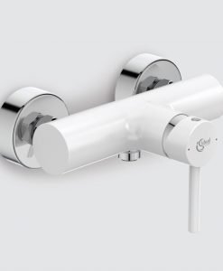 Смесител за душ цвят бял Ideal Standard Kolva BC674U5