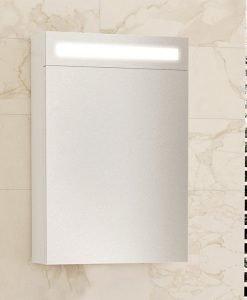 Огледален шкаф за баня с Led осветление Mino 40см.