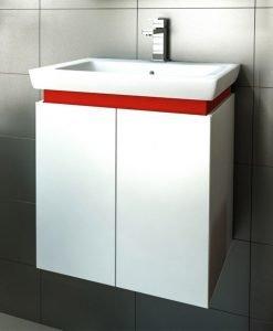PVC шкаф с мивка Pure 55