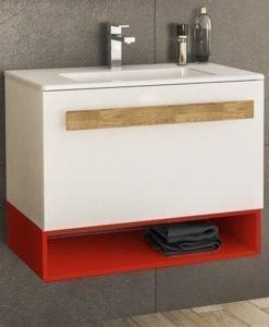 PVC шкаф с мивка Trend 70 с едно чекмедже