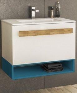 PVC шкаф с мивка Trend 80 с едно чекмедже