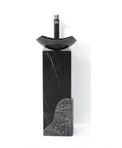 Конзола с умивалник от варовик ICL 4052