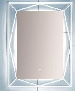 Огледало с вградено осветление КАРЛА 1503 60*80