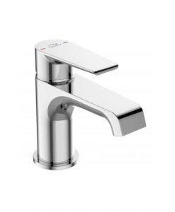 Смесител за мивка с изпразнител хром Largo  BAH_022D Laveo