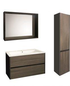 Комплект мебелна композиция за баня 6012-90 + 8955 + 3516
