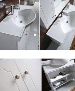 PVC мебел за баня Айвън 10080