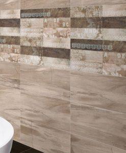 Плочки за баня серия Arco Keros 25*70