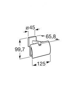 Държач за тоалетна хартия Roca Cubica A816822001