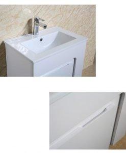 PVC шкаф за баня 6055W