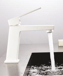Смесител за умивалник 1491085W ЕЛИНОР MATT WHITE