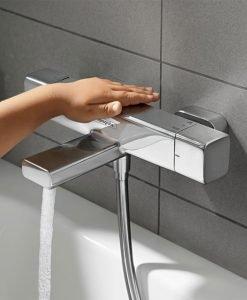 HANSGROHE ECOSTAT E Термостатен смесител за вана и душ за стенен монтаж 15774000