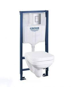 Промо комплект структура и окачена тоалетна GROHE 39552000