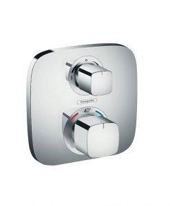 HANSGROHE ECOSTAT Е Термостатен смесител с две функции за вграждане 15708000