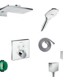 HANSGROHE RAINMAKER SELECT EXCLUSIVE система за вграждане
