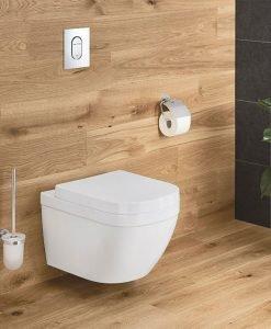 Конзолна тоалетна без ринг GROHE Euro Ceramic PureGuard 3932800H със Soft Close капак