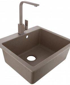 Кухненска мивка АХИНОРА 8251 SAND комплект със смесител