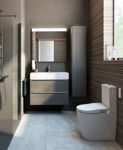 Луксозен шкаф за баня ROCA INSPIRA 80см.