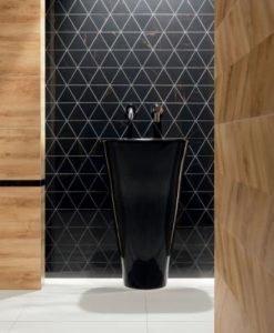 Плочки за баня TUBADZIN модел INPOINT 29.8*59.8