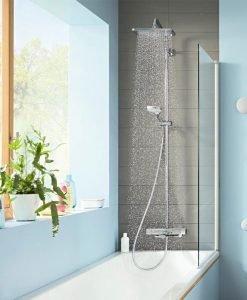 CROMA E 280 1jet  Душ система с термостатен смесител за вана и душ 27687000