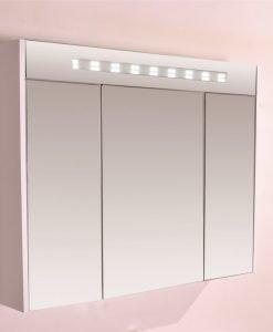 Горен огледален PVC шкаф 904650UP