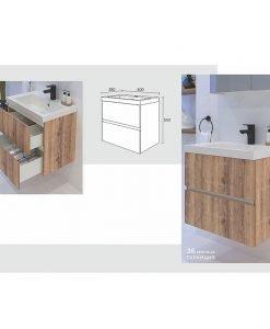 Комплект мебел за баня модел ОСТИН
