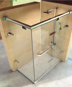 Луксозна душ кабина 2601L 120*90 прозрачно стъкло 10мм