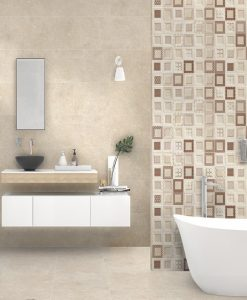 Плочки за баня DUAL GRES модел ARLES CREAM 32*96