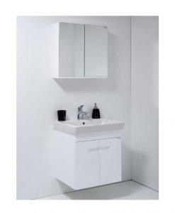 PVC шкаф за баня Поли 55 Висота