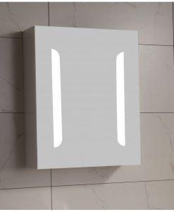 Горен огледален PVC шкаф 4514-55
