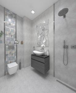 Плочки за баня CERAMICA COLOR модел PОRTA 25*40 MAT