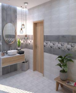Плочки за баня CERAMIKA KONSKIE модел SILVIA 20*40