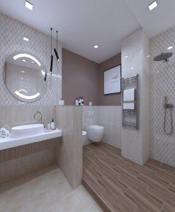 Плочки за баня CERAMIKA KONSKIE модел TIBERIO 25*40