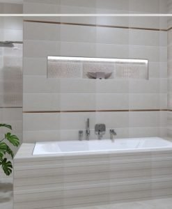 Плочки за баня NAVARTI серия DAFNE MARFIL 33.3*55 MAT