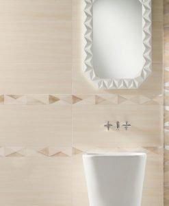 Плочки за баня TUBADZIN модел NURSA 29.8*74.8
