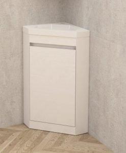 Ъглов PVC шкаф за баня 4040 NEW 39.7*39.7