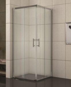 Душ кабина квадрат регулируема 788TR прозрачно стъкло 88-100*190
