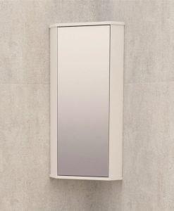 Горен ъглов огледален PVC шкаф 1030-30 NEW