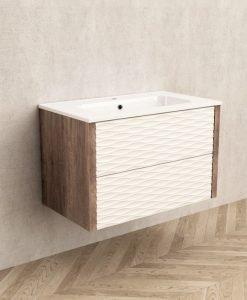 PVC шкаф за баня модел 8043 MADISON 80