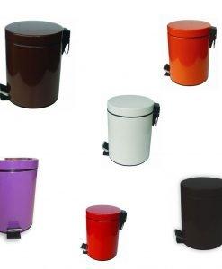 Цветни кошчета за баня 5л. 8262