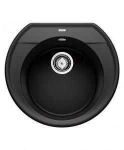 Кухненска мивка BLANCO RONDOVAL 45 черен цвят 525962
