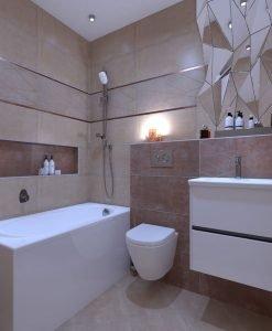 Плочки за баня BIEN SERAMIK модел TERRA BEIGE 30*90