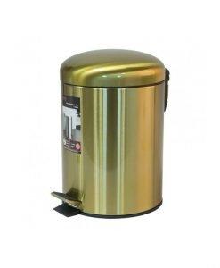Тоалетно кошче за баня 8277G цвят злато