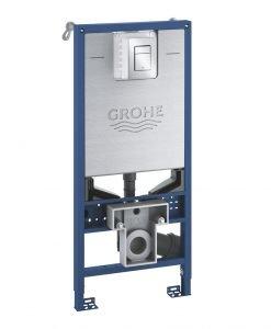 Структура за вграждане 39603000 GROHE RAPID SLX 3 В 1 с бутон Skate Cosmopolitan S