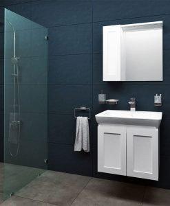 VISOTA PVC Шкаф за баня комплект Лили 60